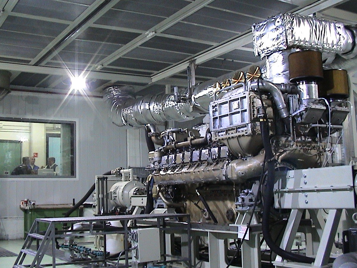 Marine Engine Test Cell